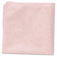 Rubbermaid Commercial Reusable Cleaning Cloth, Pink