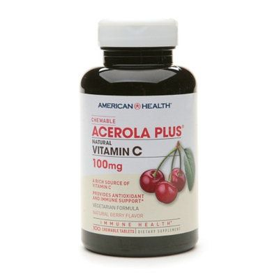American Health Chewable Acerola Plus