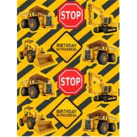 Construction Zone Stickers Pkg/4
