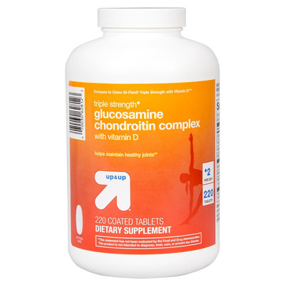 up & up Triple Strength Glucosamine Chondroitin Complex Coated Tablets - 220 Count
