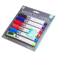 Ubrands Dry Erase Markers Chisel Tip 6ct - U Brands, Multi-Colored