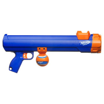 Nerf Tennis Ball Blaster - Large, Blue