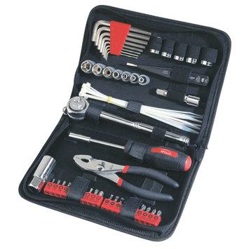 Apollo Tools DT9774 56 Pc Auto Tool Kit In Case