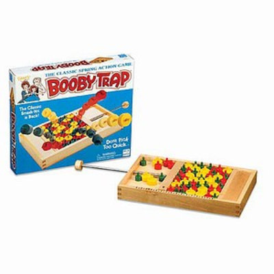 Fundex Games Classic Wood Booby Trap Ages 4+, 1 ea