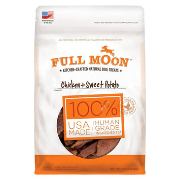 Full Moon Chicken & Sweet Potato Dog Treats - 5 oz