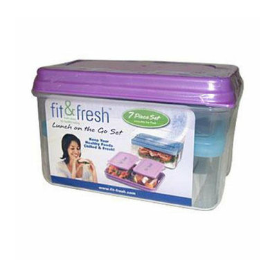 Fit & Fresh Fit and Fresh Lunch Set with Removable Ice Pack 1 Container