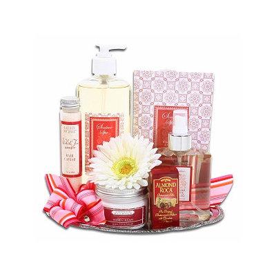 Alder Creek Gifts Elegant Spa Gift Tray