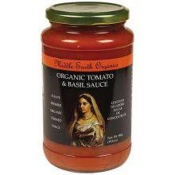 Middle Earth Organic Tomato and Basil Pasta Sauce 19.8 Ounce
