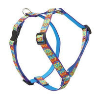 Lupine Pet Lupine 3/4 Inch Peace Pup Roman Dog Harness