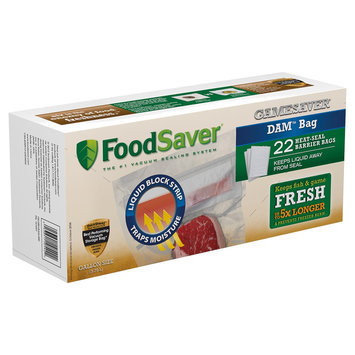 Foodsaver One-Gallon Dam Bags