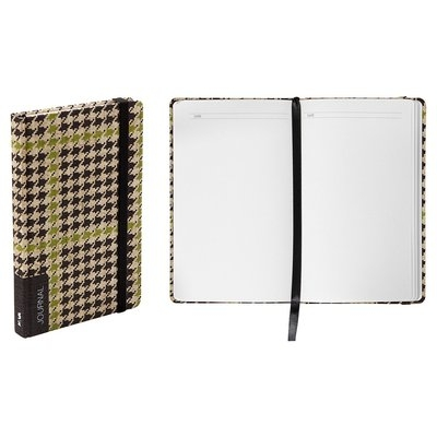 Blank Journal Nava Camo 1 Multi-colored, Houndstooth
