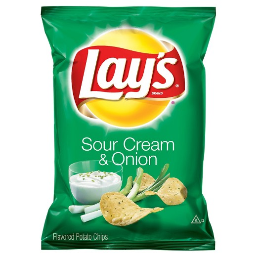 Lay's® Sour Cream & Onion Flavored Potato Chips
