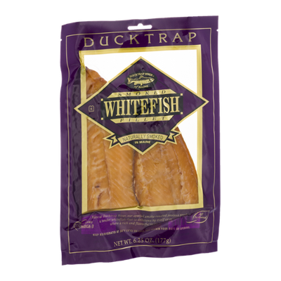 Ducktrap River of Maine Smoked Whitefish Fillet