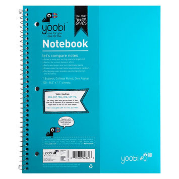 Notebook Yoobi Aqua (Blue)