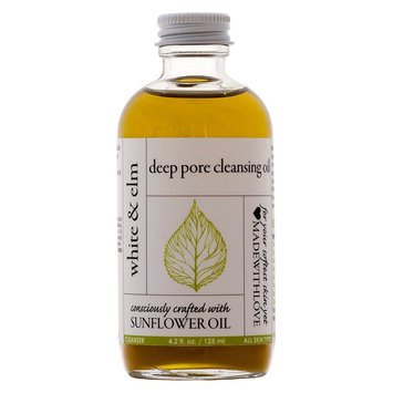 White & Elm Sunflower Deep Pore Cleansing Oil - 4oz