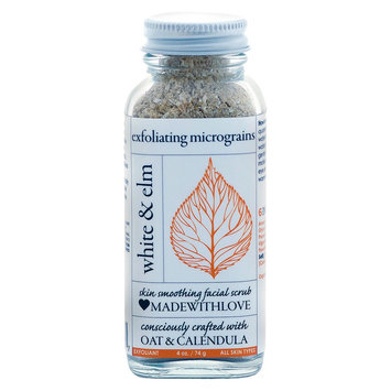 White & Elm Oat & Calendula Exfoliating MicroGrains - 4oz
