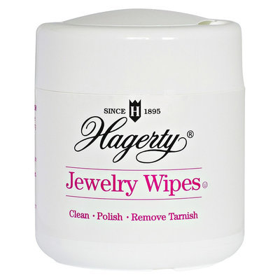 Hagerty Jewellery Wipes-WHITE-One Size