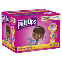 Kimberly-clark HUGGIES Pull-Ups Girls' Learning Designs Training Pants, (Choose Your Size)