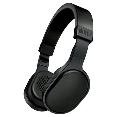 KEF M500 Hi-Fi Headphones - Black
