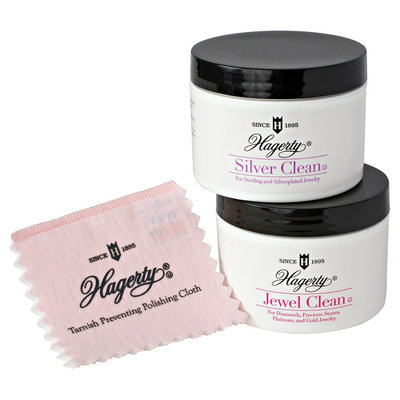 Hagerty Essential 3 Piece Jewelry Care Collection