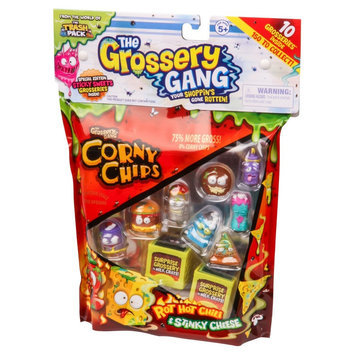 Moose Toys The Grossery Gang Large Pack (10 Pack) Season 1