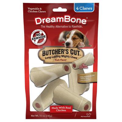 Dreambones DreamBone Butcher's Small Cut Rawhide - 4ct
