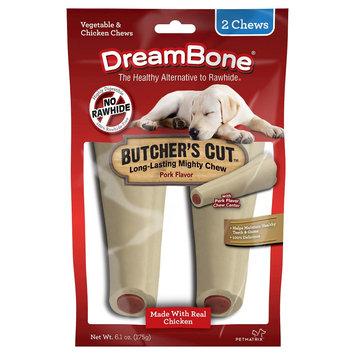 Dreambones DreamBone Butcher's Large Cut Rawhide- 2ct