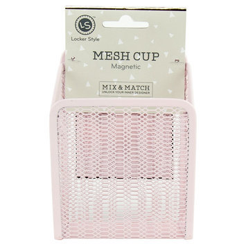 Ubrands Locker Style Mesh Cup, Magnetic - Blush, Pink