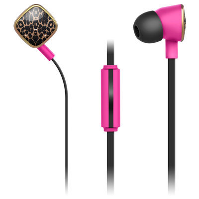 Merkury Innovations Macbeth Earbuds with Mic - Kitty, Multi-Colored