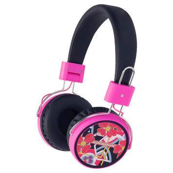 Merkury Innovations Macbeth Wireless Headphones -Bibi Licorice, Black