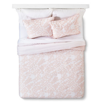 Playa Comforter And Sham Set Twin - Blush Sabrina Soto, Blush Peach