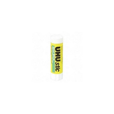 Saunders 99649 UHU Stic Permanent Clear Application Glue Stick .74oz.