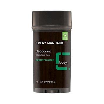 Every Man Jack Eucalyptus Mint Aluminum Free Deodorant - 3 oz, Brown