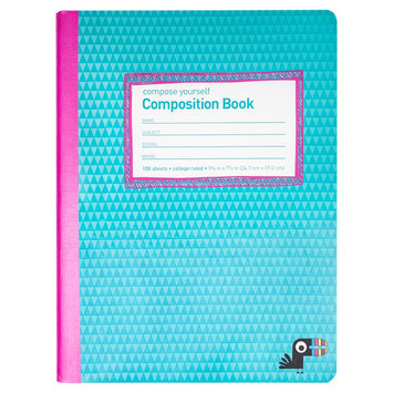 Yoobi Composition Notebook, College Ruled, 100 Sheets, 9.75