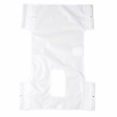 Drive Medical Nylon Patient Lift Sling with Commode Cutout, 1 ea