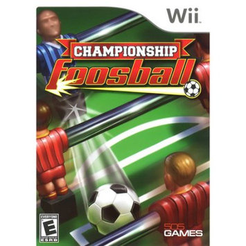 Championship Fooseball Wii Game 505 Games