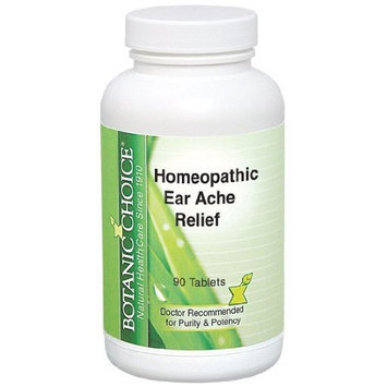 Botanic Choice Homeopathic Ear Ache Relief Formula, 90 Count (Pack of 2)