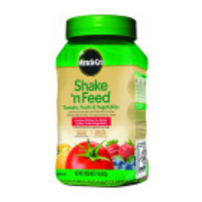 Scott's Scotts Miracle-Gro Shake N Feed Tomato Fruit & Vegetable 8 Ounce 1008111 Pack of 6