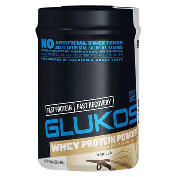 Glukos Protein Powder Vanilla 1 lb Canister