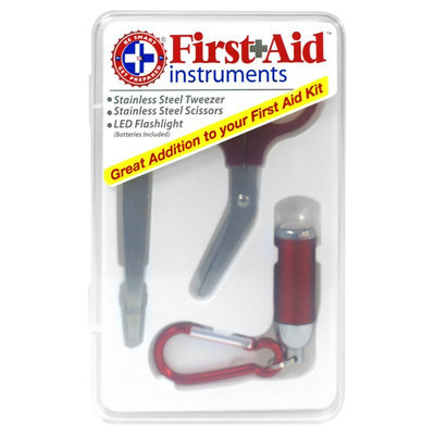 Be Smart Get Prepared 11HBC01148 First Aid Instruments Vertical Pack Of 24