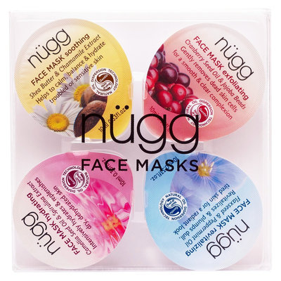 Beauty Ideas Group, Llc Nugg Face Mask Soothe, Exfoliate, Hydrate and Revitalize (4 Pack)