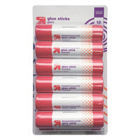 up & up 12 ct Glue Stick - Disappearing Purple, Multi-Colored