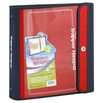 Mead Trapper Keeper Binder, 1 1/2 Inch, 1 binder - MEAD PRODUCTS