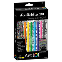 Art 101 Doodlebliss Markers and Art Pad - Art101