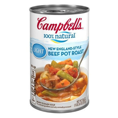 Campbell's 100% natural Light New England Style Beef Pot Roast, 18.6-Ounce Cans (Pack of 12)
