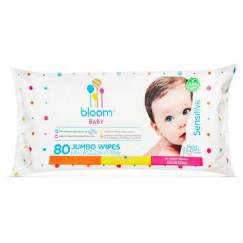 Bloom And Kind Co. bloom BABY Jumbo Sensitive Baby Wipes