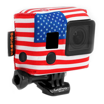 Target Xsories TuxSedo Neoprene Cover Fits for all GoPro - Americana (TXSD3A803), Red