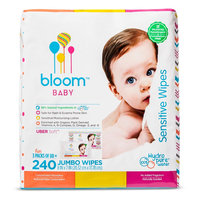 Bloom Baby Wipes - 240 Count