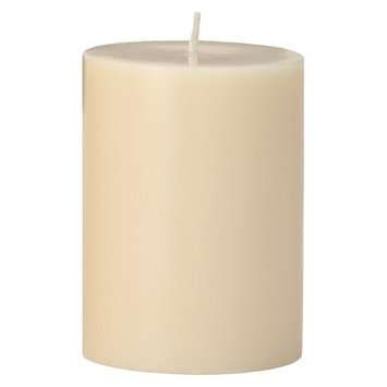 Torre & Tagus Prime Palm Wax Pillar Candle - Ivory (3x4