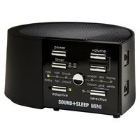 Sound+Sleep Mini Therapy System Black